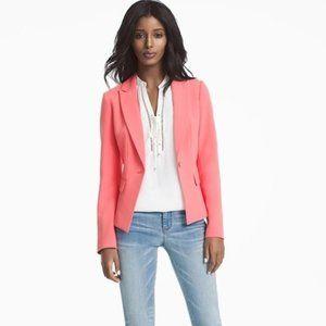 White House Black Market Jackets & Coats - White House Black Market Coral Blazer
